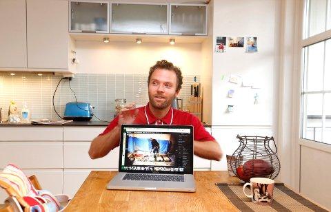 Magnus Knutsen Bjørke er fotograf og har dokumentert byggeprosessen grundig.