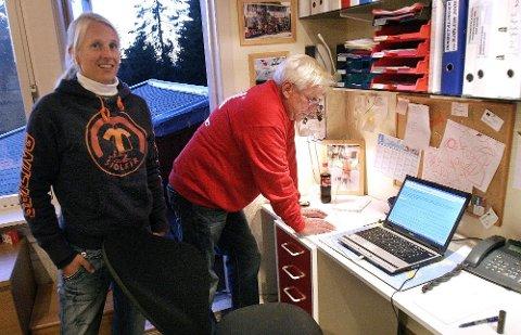 HEKTISK: Anniken og Tomm Murstad fylte opp sjøskolen på under fire minutter. FOTO: DAVID VOJISLAV KREKLING