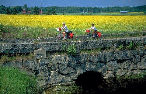 Et bra sykkelland, med mange lite trafikkerte bilveier og sykkelveier.