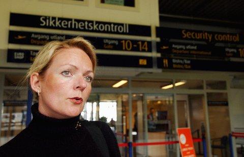 Markedssjef Tine Kleive-Mathisen ved Sandefjord lufthavn Torp sier Alf-Reidar Fjelds brå avgang som lufthavnsjef kom som en overraskelse for mange.