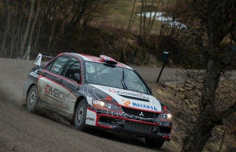 Eyvind Brynildsen vant Rally Sørland.