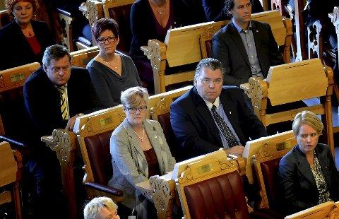 Kristin Ørmen Johnsen og Morten Wold gleder seg til å ta fatt som stortingsrepresentanter.