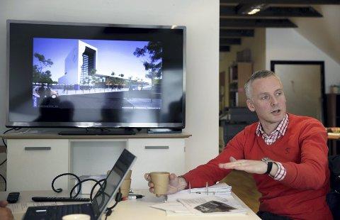 Vurderer Grytå: Nå vurderer Jacobsen og resten av prosjektgruppen og flytte hallen til Grytå. arkivfoto: GRETHE NYGAARD