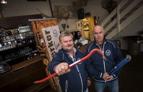 SOLID KOST: Hos Thore Petter Wang og Per Fridtjof Skipperud Tjuvholmen Kro blir det heretter muligheter for en «solid lunsj». Foto: Jo E. Brenden