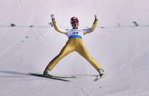Robert Kranjec vant VM i skiflygning i Vikersundbakken.