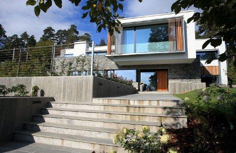 Boligen på Høvik er på mange måter representativ for flere av boligene som bygges i Bærum, mener juryen.