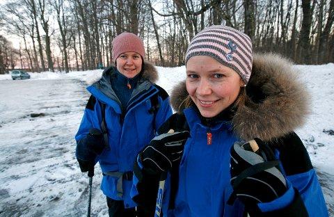 Mens Marie Pedersen er mossejente tvers igjennom, er Solveig Nordstrand innflytter og inngiftet mossing.