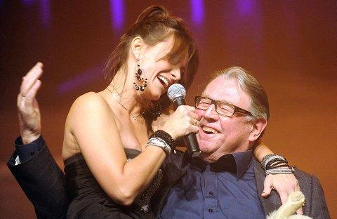 : Katrine Moholt sang til ære for Lars Hauge. ALLE FOTO: CHRISTIAN CLAUSEN