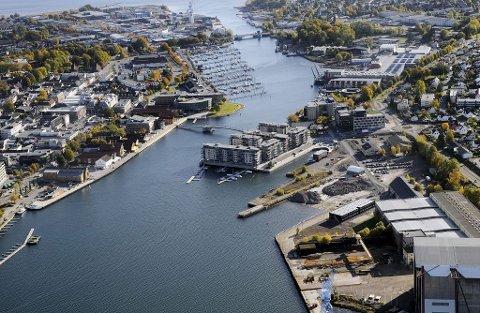 Flere partier ivrer for å slå sammen vestfoldkommuner, deriblant Tønsberg og Nøtterøy. Foto: Per Gilding
