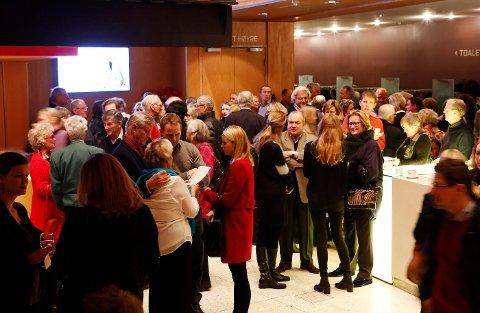 GODT OPPMØTE: Allerede for flere måneder siden ble konserten med Charlie Siem i Bærum Kulturhus utsolgt. FOTO: TORE GURIBY