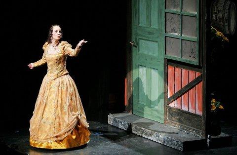 GOD STEMME: Ingeborg «Milady» Sand sto for noen av de beste sangprestasjonene i «De Tre Musketerer».