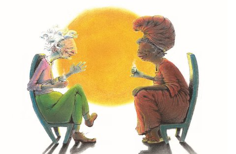 Boken «Mine to oldemødre»