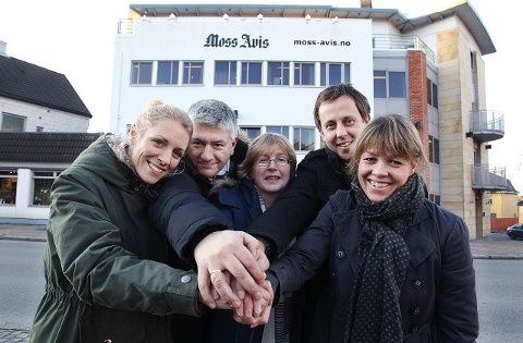 Janne Gjessing, Pål Enghaug, Torill Sørenssen, Magne Henriksen og Helen Mollatt setter fokus på frivillighet gjennom en egen seksjon i Moss Avis. Mandag er det verdens frivillighetsdag.