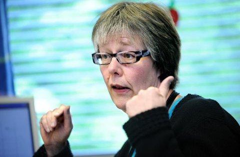 Anne Grethe Erlandsen hører til fylkets best betalte helsetopper.