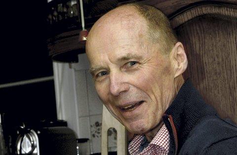 TIL STEDE: Jo Inge Bjørnebye, preget av sjukdom, men intenst til stede i livet i januar i år.