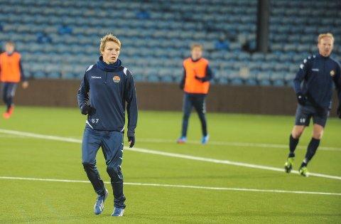 Martin Ødegaard er sammen med Henrik Bredelig tatt ut til å spille landskamper for det norske G16-laget.