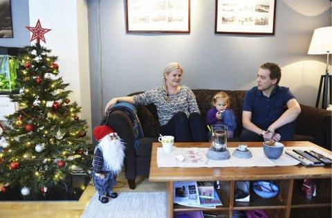 Anette, lille Celeste Lykke og Magnus Todal  hadde et spesielt nyttårsønske; å få prøve ut den nye kreftmedisinen.