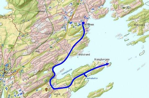konglungen kart Budstikka   Turtipset: Sensommer i sjøkanten konglungen kart