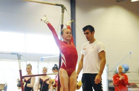 VANT: Martine Magnussen (13) vant søndag juniorklassen sammenlagt. Foto: Kent Inge Olsen.