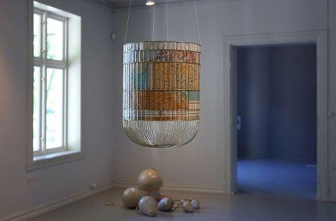 Daniel Medina har laget verket «Birdcage» til Momentumbiennalen 2011 som vises på Galleri F 15.