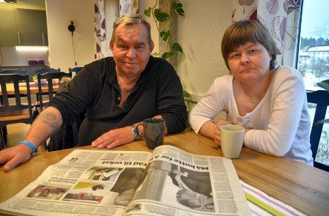 – Skal jeg miste dette tilbudet, da vet jeg ikke hva som kan skje, sier Jonny Eriksen. I likhet med Karina Thuv er han ofte innom Spangenhuset, et møtested for mennesker som sliter med den psykiske helsa.
