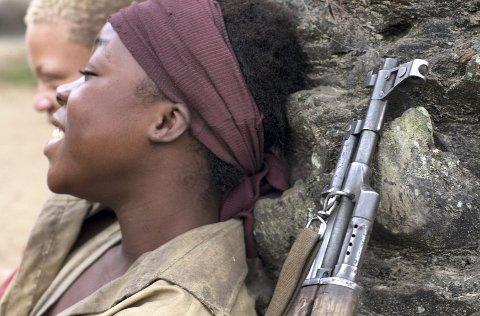 REBELL: Canadiske «Rebell» gir barnesoldatene i Afrika et ansikt.