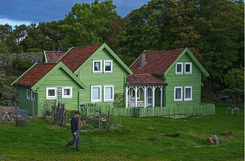 Ole Gjermund Digernes vinnar av Kulturlandskapsprisen i Hordaland 2014.