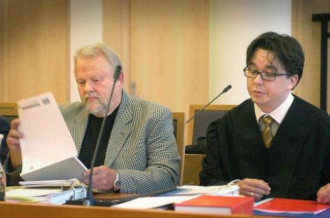 FRUSTRERT: –Vi fikk aldri svar. Jeg har aldri opplevd noe lignende, sa Terje Olaussen (til venstre) i sin partsforklaring. FOTO: CHRISTIAN CLAUSEN