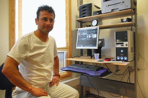 Bedir Yiyit gikk på etablererkurs og startet egen virksomhet for muskelterapi og massasje.