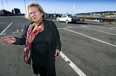 Hastverk May Hansen (SV) vil ha midler til ny hall på Jeløy inn allerede på neste års budsjett for Moss. foto terje holm