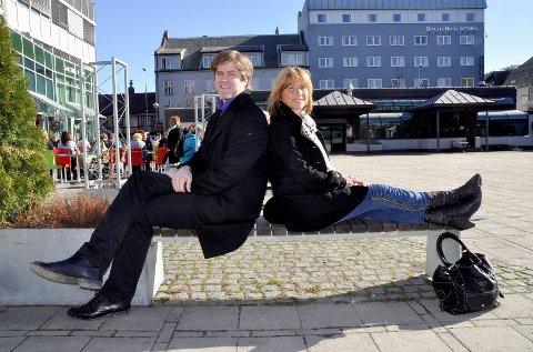Gleder seg: Rune Holme og Anja Katrine Tomter er fornøyd med årets AnJazz-program.