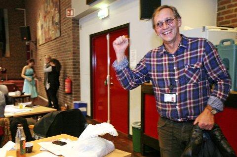 fornøyd Jeg tror Høyres vedtak vil føre til bedre samarbeidsklima i det politiske miljøet i Moss, sier Eirik Tveiten (Rødt). foto pål andreassen