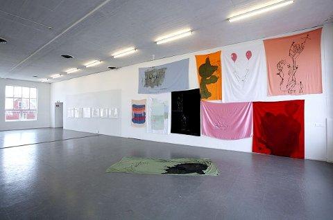 Her er et av motivene på Tegnebiennale 2010 i Momentum kunsthall. Vår anmelder er langt mer imponert over enkeltkunstnere enn over helheten i utstillingen. foto pål andreassen