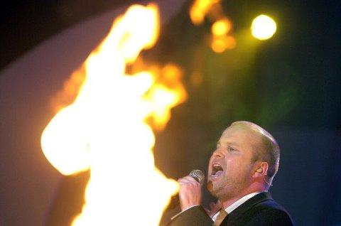 Torstein Sødal kom på andreplass i Melodi Grand Prix i 2008. Tirsdag synger han på SAS-hotellet i Oslo. FOTO: CHRISTIAN CLAUSEN
