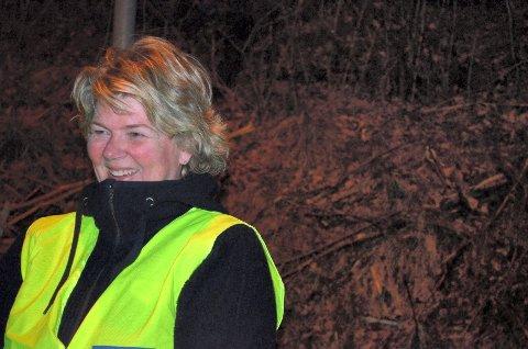 Eva Alexandersen feiret bursdagen på tur med Tjukkasgjengen.