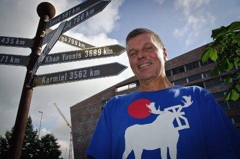 Midtøsten viktigere enn Norden: Stein Frøysang mener Hamar må fokusere mer på internasjonale venner i Midtøsten framfor i Norden.Foto: Tore Svensrud