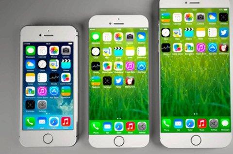 Den største modellen av iPhone 6 kan bli forsinket.
