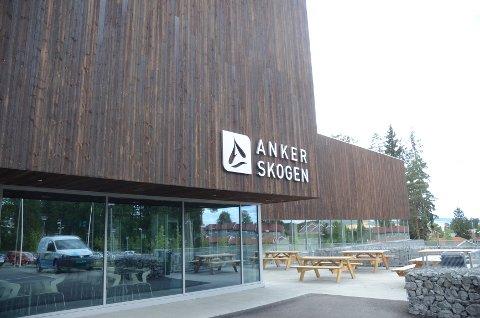 I knallvarme juli valgte folk heller å være ute enn å bade innendørs i Ankerskogen.