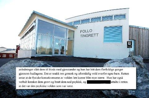 Kvinnen ble dømt i Follo tingfett til fem og et halvt år i fengsel for mishandling av egne barn.