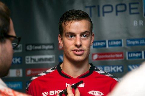 Jonas Grønner har forlenget kontrakten med Brann.