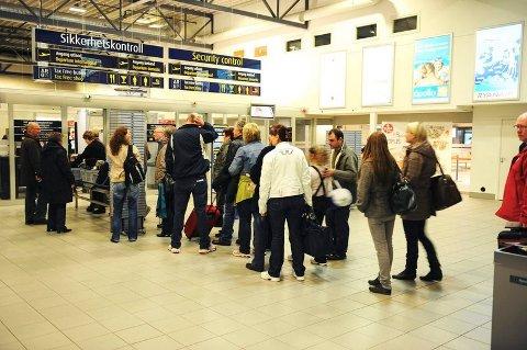 KØKRYMP: Utenlandsreisene gikk ned med 9,3 prosent i året som gikk.