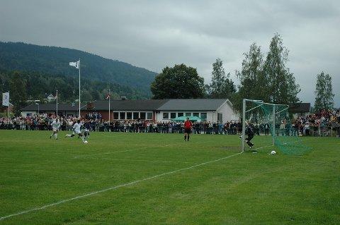 Baboucarr Sarr satte ballen utagbart i høyre hjørne på straffespark etter 37 minutter.