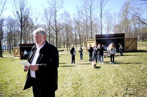 Fylkesordfører Per-Eivind Johansen er blant dem som mener at viking-Vestfold har sin helt naturlige plass på UNESCOs verdensarvliste.