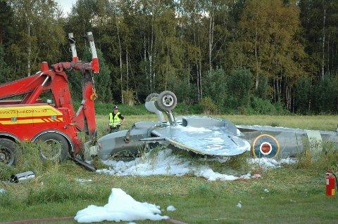 Seilfly ulykke