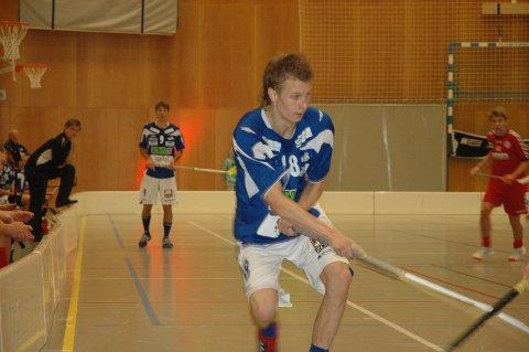 Kristian Becher scoret for NOR mot Sveiva i dag.