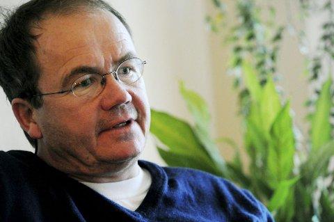 HISTORIE: – Jeg har forsøkt å fortelle Christoffers historie, sier forfatter Jon Gangdal.  Foto: Anne Charlotte Schjøll
