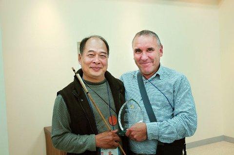Den taiwanske buemakeren Toy ble en god venn av Truls Erik Dahl.