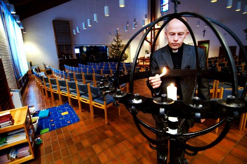 Ivar Flaten holder minnestund i Bragernes kirke i kveld.