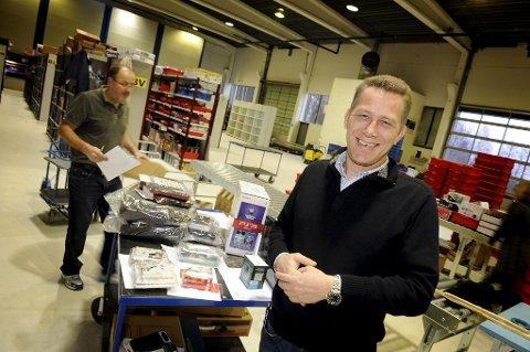 3be5181d FORNØYD: Daglig leder i Netshop.no, Sven Aage Lysebo, er glad for