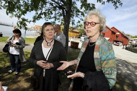 STORFINT BESØK: Ragnheiður Helga Þórarinsdóttir er leder i den internasjonale Unesco-komiteen. Foto: Per Gilding